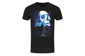 Requiem Collective Mens Deadly Night Shade T-Shirt (Black) (XX Large (44-46in))