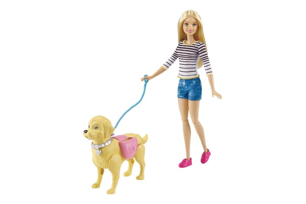 Barbie Walk & Potty Puppy