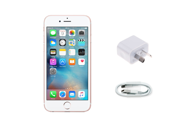 Apple iPhone 6s Refurbished (16GB, Rose Gold) - AB Grade