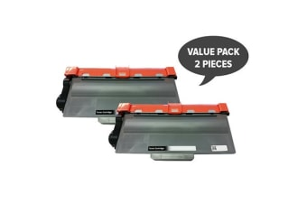 TN-3340 Premium Generic Laser Cartridge Set (Two Pack)