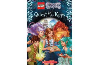 LEGO Elves - #1 Quest for the Keys Chapter Book No Level