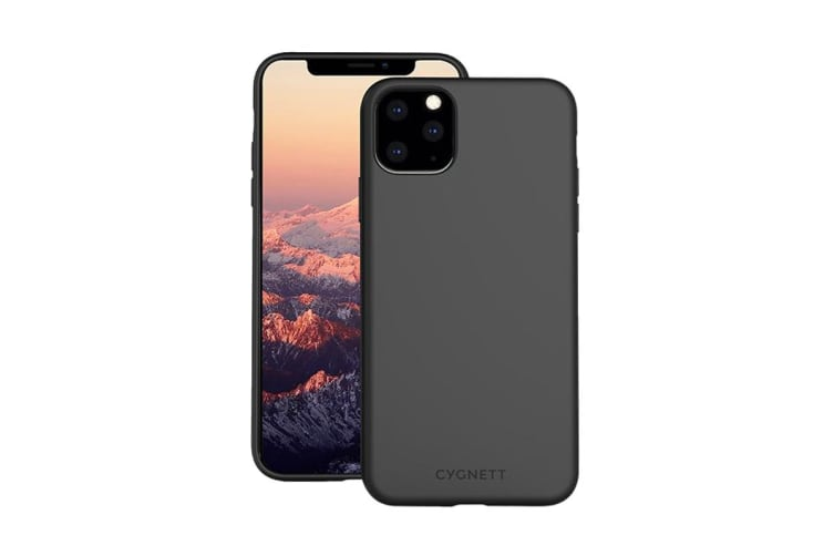 Cygnett Skin Ultra Soft Feel Case for iPhone 11 Pro Max - Black (CY2924CPSKI)
