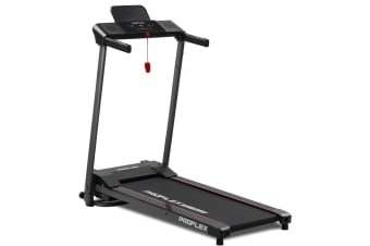 PROFLEX Treadmill Bluetooth Running Machine Foldable Small Compact Home Electric