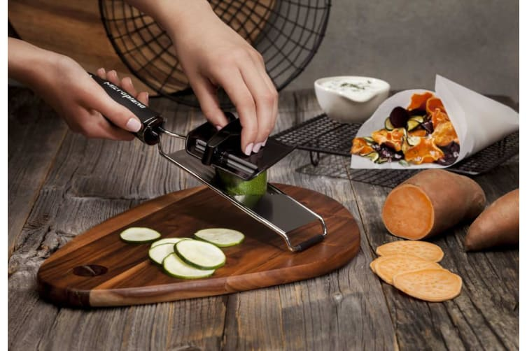 Microplane Gourmet Slicer With Food Holder