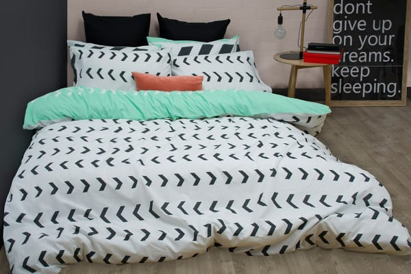 Apartmento Sven Reversible Quilt Cover Set (King)