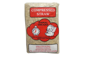 Animal Dreams Compressed Straw (Beige) (One Size)