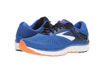 Brooks Men's Adrenaline GTS 18 (Blue/Black/Orange)