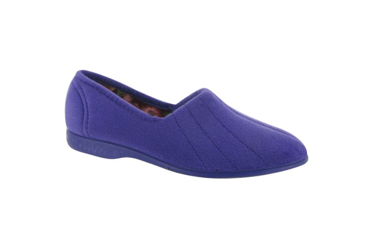 GBS Audrey Ladies Slipper / Womens Slippers (Lilac) (8 UK)