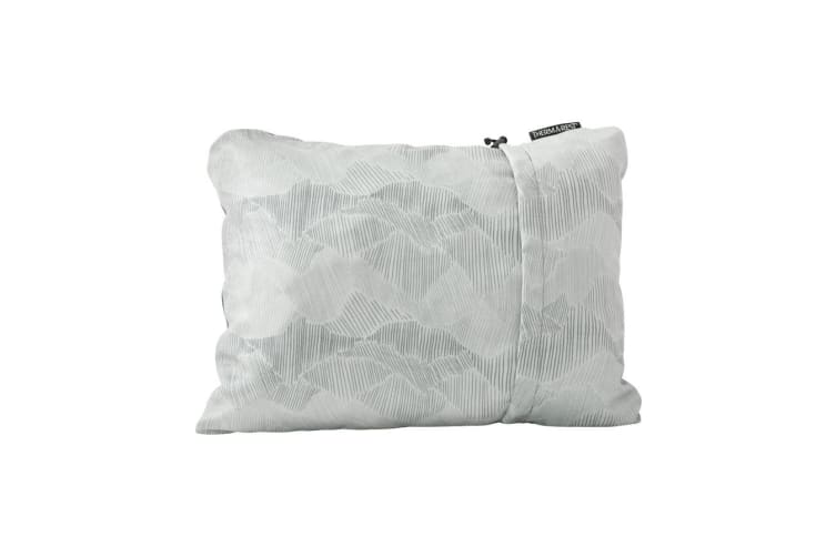 Thermarest Compressible Pillow Gray Sleep Pillows Size Medium