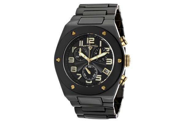 Swiss Legend Men's Throttle (SL-10028-BKBGA)