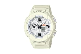 Casio Baby-G Analog Digital Female Watch with Resin Band - White (BGA230-7B2)