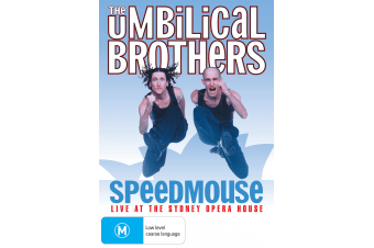 The Umbilical Brothers Speedmouse Live from the Sydney Opera DVD Region 4