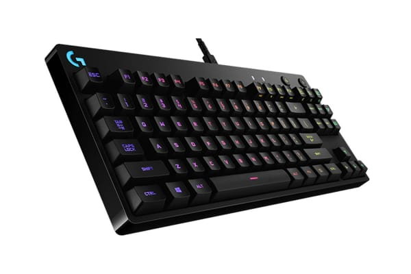 Logitech G Pro Spectrum Tenkeyless RGB Mechanical Gaming Keyboard (920-008296)
