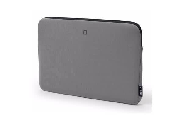 "Dicota Skin BASE sleeve bag for 12""-12.5""  Notebook /Laptop (Grey) Euro Design"