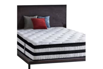 35cm Pocket Spring Foam Euro Top Mattress KING SINGLE