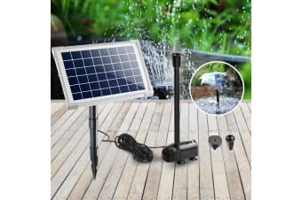 20W Solar Powered Pond Pump Outdoor Submersible Water Fountain Pumps