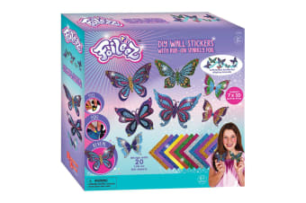 Foileez D.I.Y. Butterfly Wall Stickers