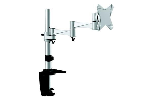 Astrotek Monitor Stand Desk Mount 43cm Arm for Single Display 13'-29' 8kg 15° tilt 180° swivel 360° rotate VESA 75x75 100x100