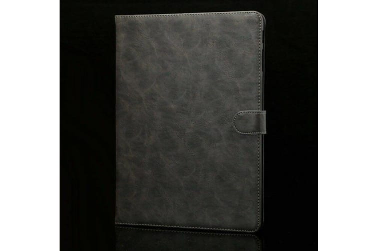 Luxury Leather Smart Case Cover For Galaxy Tab A 10.1(2016)T580/T585-Grey