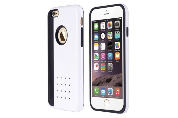 cheap for discount 329a4 580be For iPhone 6S PLUS 6 PLUS Case Cookie Armour Durable Shielding Cover White