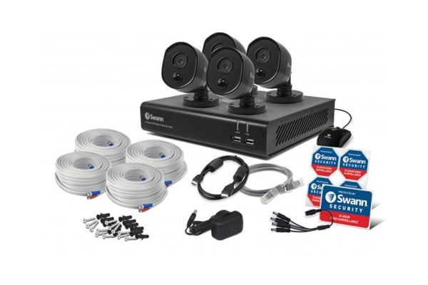 Swann 4 Channel Security System with 4 x Thermal Sensing Cameras & 1080p Full HD DVR-4480 (SWDVK-444804B)