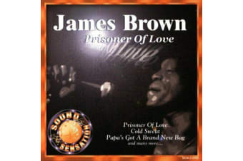 James Brown: Prisoner of Love BRAND NEW SEALED MUSIC ALBUM CD - AU STOCK