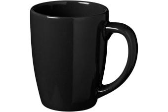 Bullet Medellin Ceramic Mug (Pack of 2) (Solid Black) (11 x 8.4 cm)