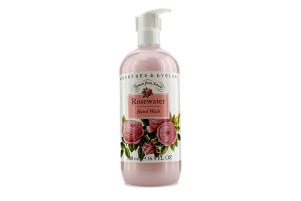 Crabtree & Evelyn Rosewater Hand Wash (500ml/16.9oz)