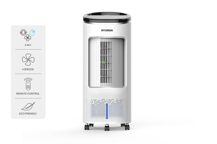 Hyundai Evaporative Cooler 7.5L (White)