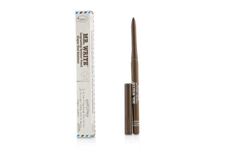 TheBalm Mr. Write Long Lasting Eyeliner Pencil - # Loveletters (Brown) 0.35g