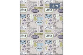 Kitchen - 2019 Premium Diary Planner A5 Padded Cover Christmas New Year Gift