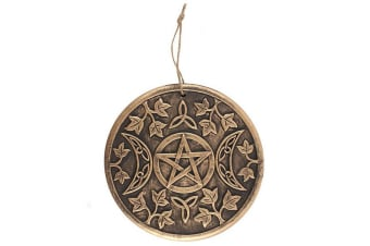 Something Different Triple Moon Terracotta Plaque (Copper)