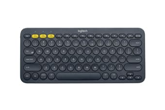 Logitech K380 mobile device keyboard Black Bluetooth