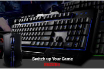 Coolermaster Devastator II Blue LED Keyboard & Mice Combo. Exclusive New Switch Mem-chanical (LS)