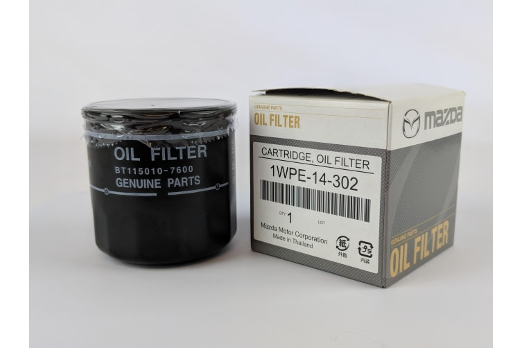 New Genuine Mazda 3 6 CX-5 Oil Filter 1WPE14302 Mazda3 BM BL Mazda6 GL GJ CX5 KE