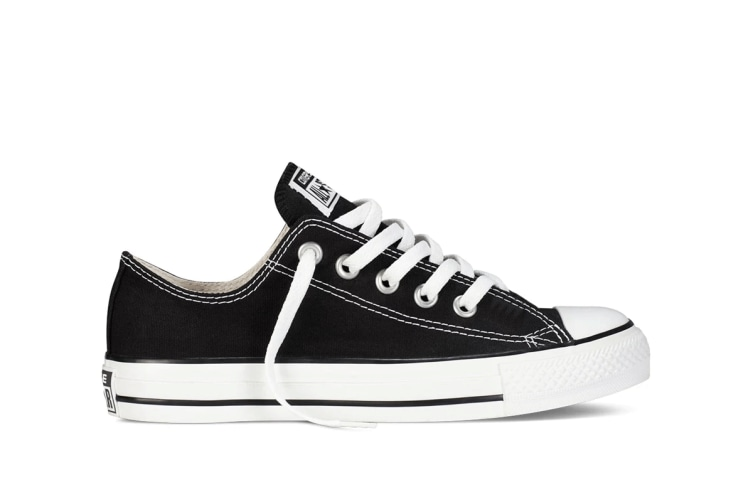 Converse Chuck Taylor All Star Ox Lo (Black, US Mens 10 / US Womens 12)