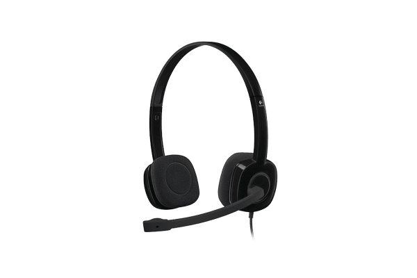 Logitech H151 Single Pin Stereo Headset (981-000587)