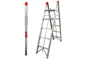TRA 5 Step Collapsible Box Stick Ladder