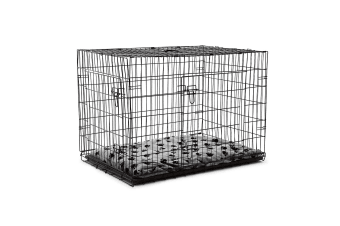 "42"" XL Dog Crate Cage - Black"