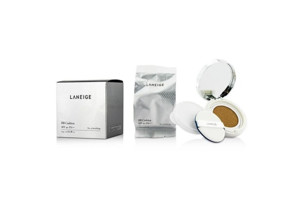 Laneige BB Cushion Foundation SPF 50 With Extra Refill - # No. 23 Sand Beige (2x15g/0.5oz)