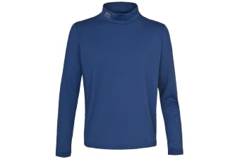 Trespass Mens Yuba Long Sleeve Base Layer Top (Bluetone)