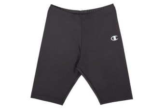 Champion Kids Nylon Bike Short (Black, Size 10C)