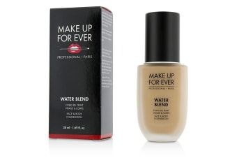 Make Up For Ever Water Blend Face & Body Foundation - # R330 (Warm Ivory) 50ml