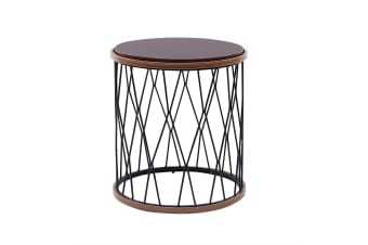Ostmarka 50cm Round Side Table - Gold