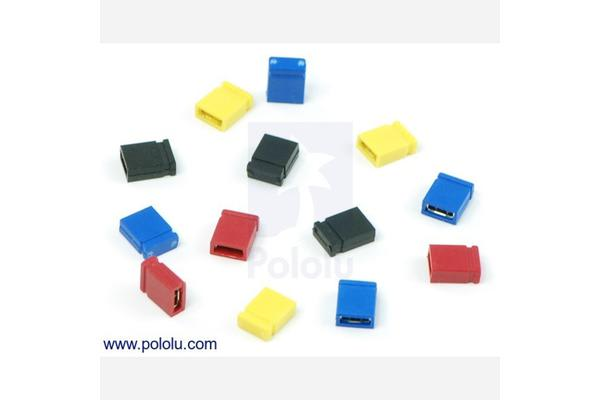 "0.100"" (2.54 mm) Shorting Block: Blue, Top Closed"