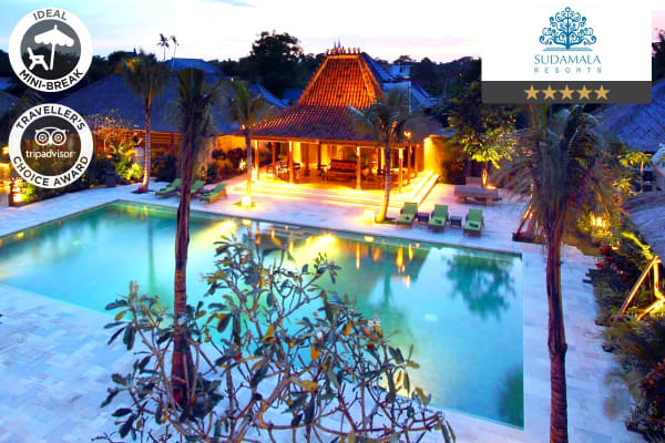 BALI: 5 Nights at Sudamala Suites & Villas, Sanur for Two (Deluxe Suite)