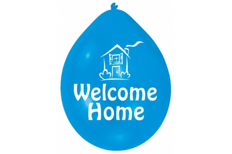 Minipax Welcome Home Party Balloons (Pack Of 10) - ASRTD (Multicoloured) (One Size)