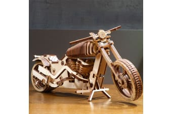 Ugears Mechanical Motorbike VM-02 Wooden Model Kit