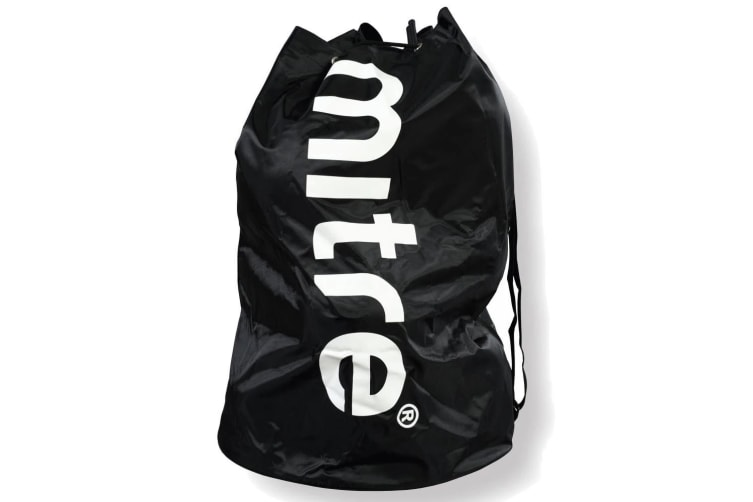 Mitre Durable 8 Ball Carrier/Bag w/Shoulder Strap for Soccer/Football/Sport