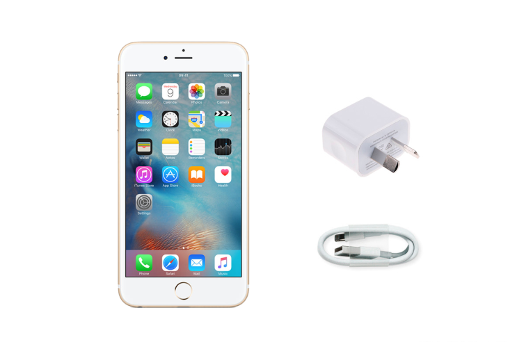 Apple iPhone 6 Plus Refurbished (16GB, Gold) - B Grade